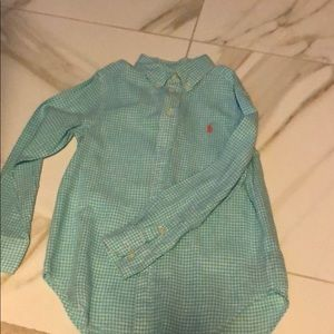 Ralph Lauren green gingham
